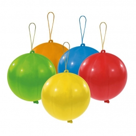 Globos Punchball Colores Surtidos 30 cm 5 ud