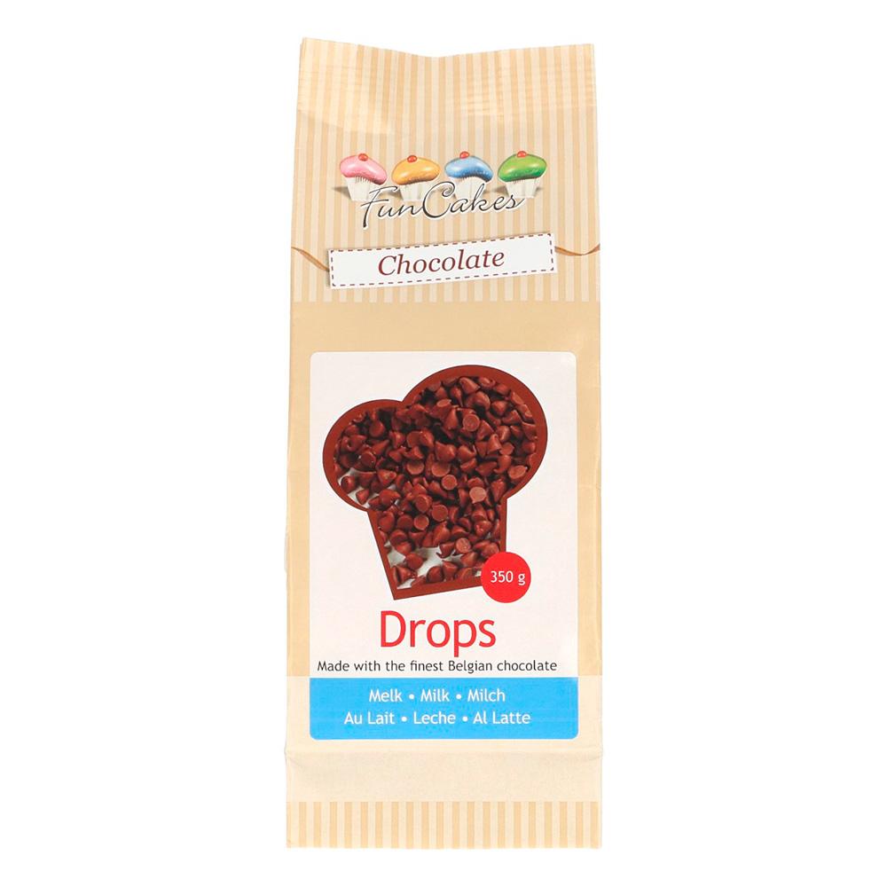 Gotas de Chocolate con Leche especial Horneado