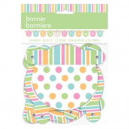 Guirnalda Baby Shower Colores Pastel