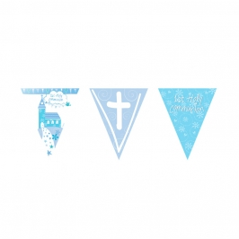 Guirnalda Comunión Iglesia Azul