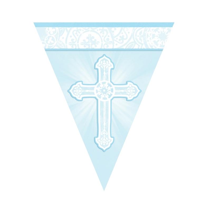 Guirnalda de Comunión Cruz Azul