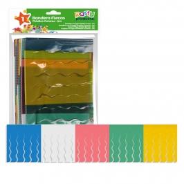 Guirnalda de Flecos Multicolor 5 Metros