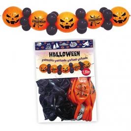 Guirnalda de globos para Halloween