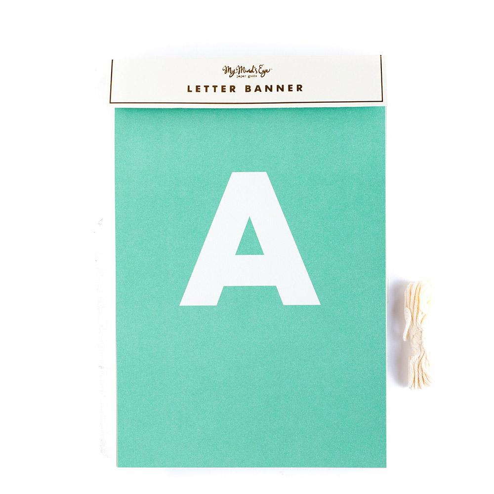 Guirnalda de Letras (60 uds)