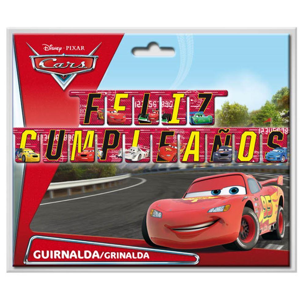 Guirnalda Feliz Cumpleaños de Cars