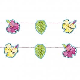 Guirnalda Floral Hawaii 8 piezas