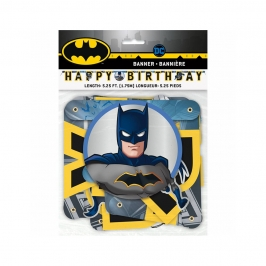 Guirnalda Happy Birthday Batman