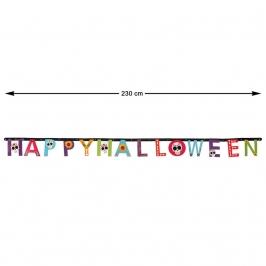 Guirnalda Happy Halloween Día de los Muertos