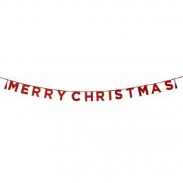 Guirnalda Merry Christmas 3 metros
