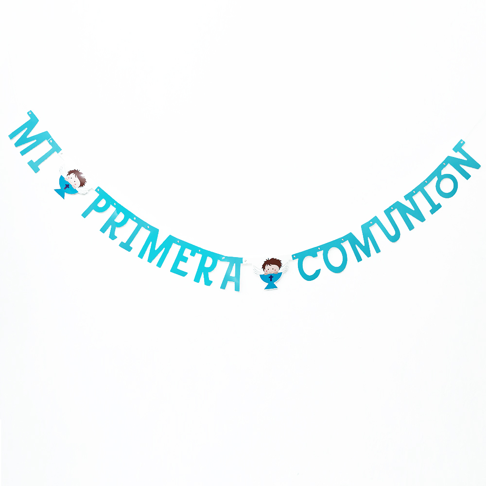 Guirnalda Mi Primera Comunión Niño - My Karamelli