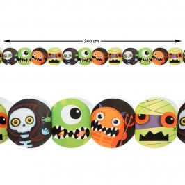 Guirnalda Monstruos Halloween 240 cm