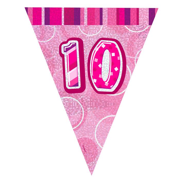 Guirnalda Nº 10 Rosa