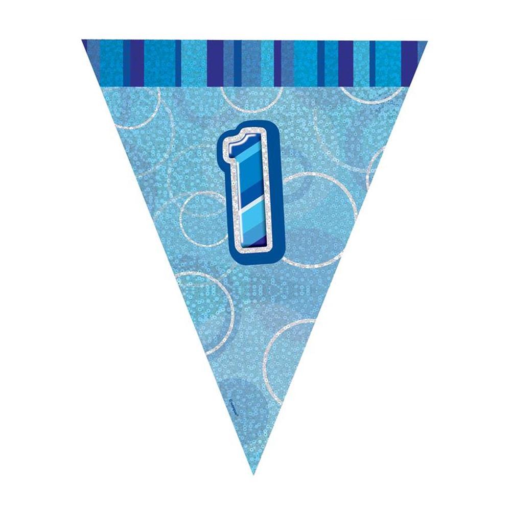 Guirnalda nº 1 Azul Brillante