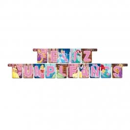 Guirnalda Princesas Feliz Cumpleaños