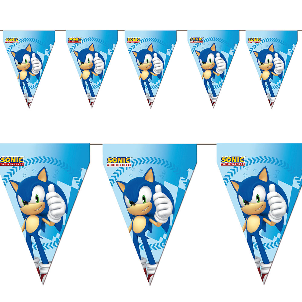 Guirnalda Sonic The Hedgehog 3 m