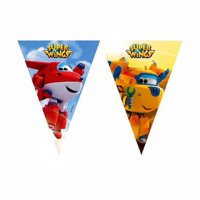 Guirnalda Super Wings