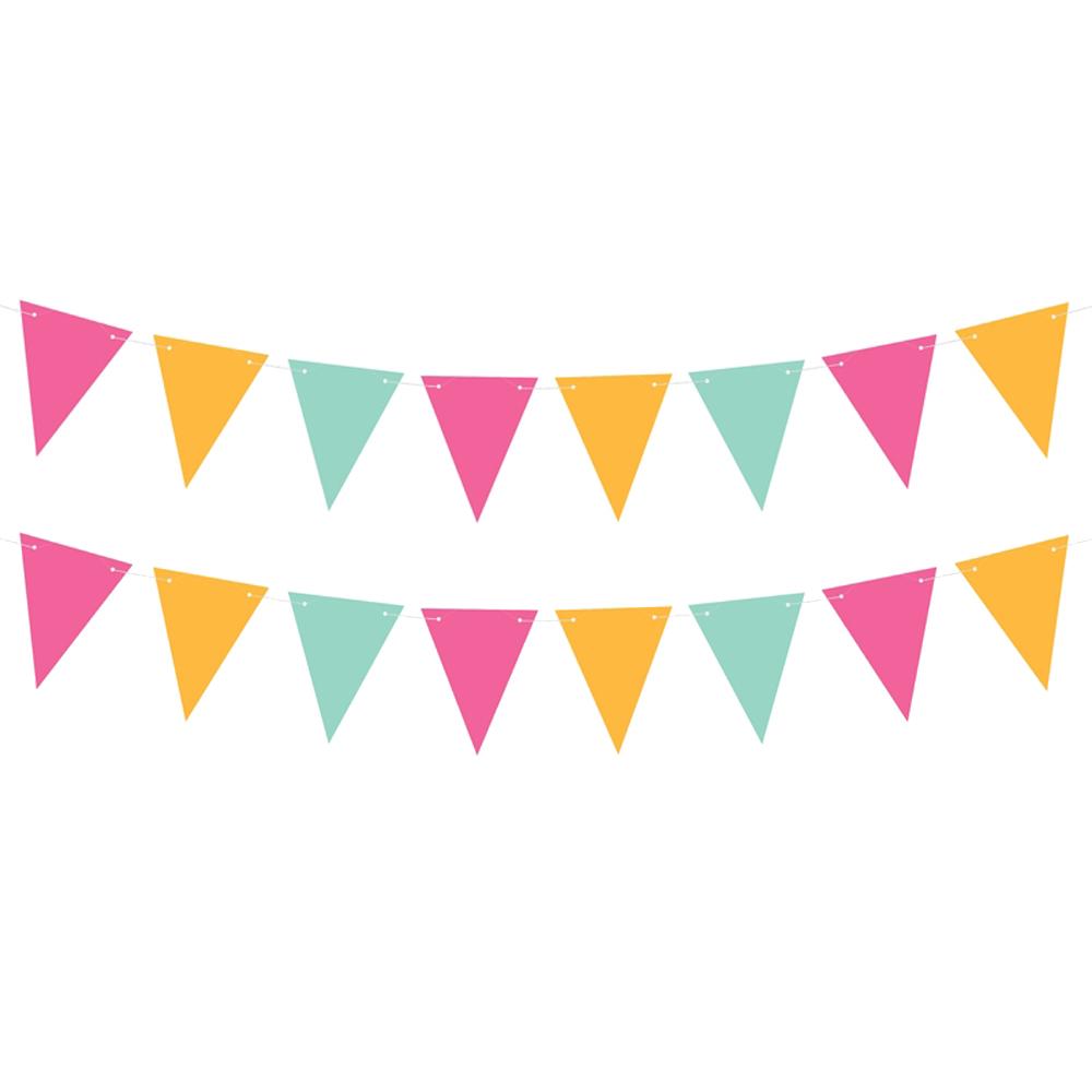 Guirnalda tropical party de colores de 1,3 metros