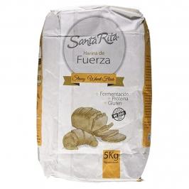 Harina de Trigo Fuerza 5 Kg Santa Rita