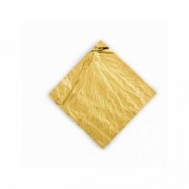 Hojas de oro comestible 8,6 cm x 8,6 cm