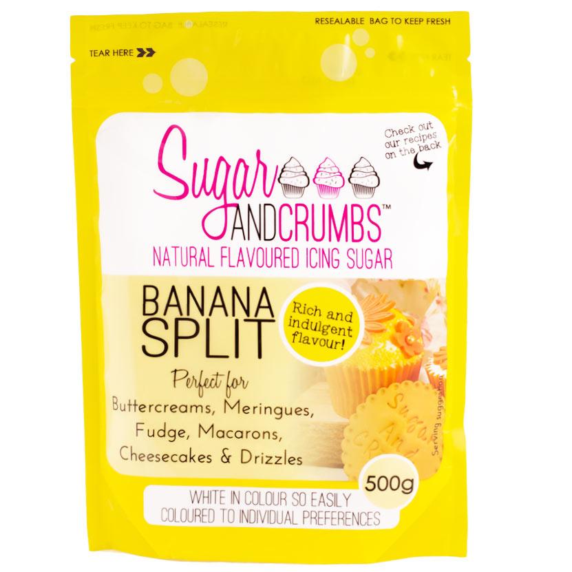 Icing Sugar sabor Banana Split - My Karamelli