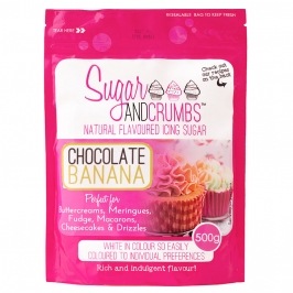 Icing Sugar sabor Chocolate y Banana - My Karamelli