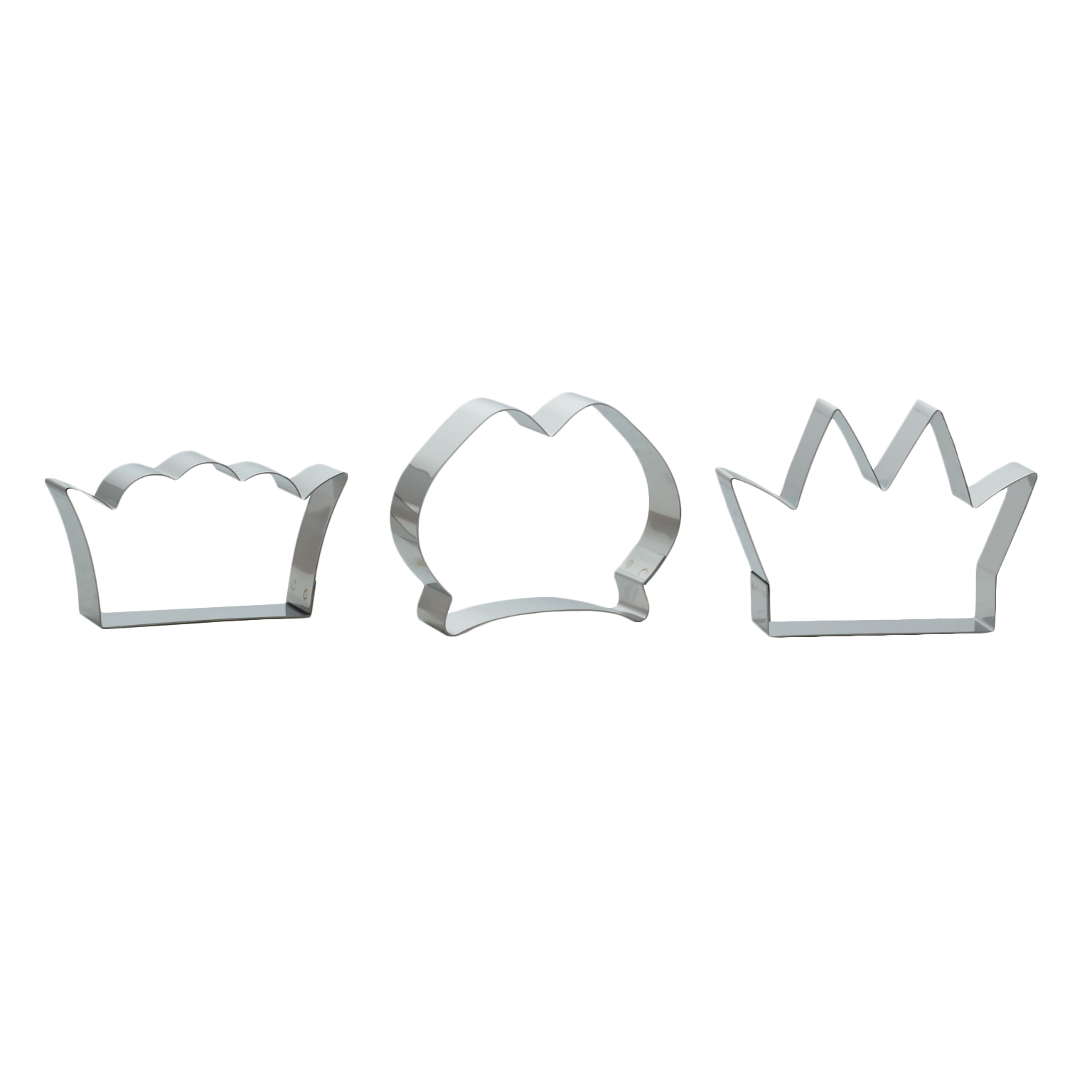 Set 3 Cortadores Coronas