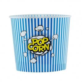 Cubo para Palomitas Pop Corn Azul