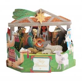 Tarjeta Navidad 3D Modelo A