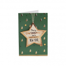 Mini Tarjeta Felicitación Navidad A