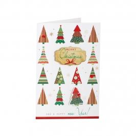 Mini Tarjeta Felicitación Navidad C