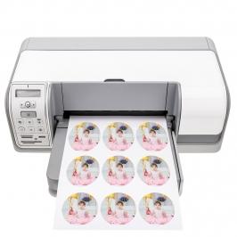 Impresión Personalizada en Papel de Azúcar para galletas