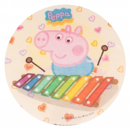 Impresión Comestible Peppa pig Jugando