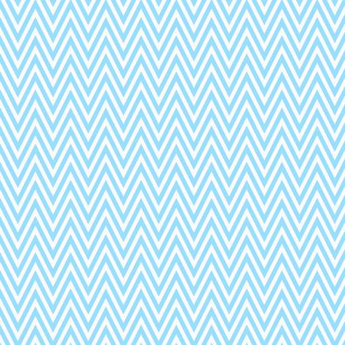 Impresión en Chocotransfer Azul Chevron