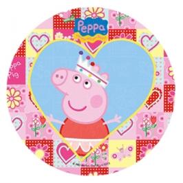 Impresión en papel de azúcar Peppa Pig A 21cm
