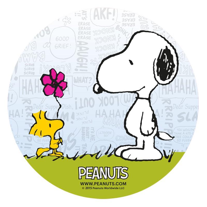 Impresión en papel de azúcar Snoopy 20cm