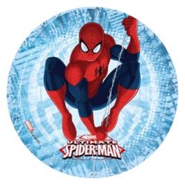 Impresión en papel de azúcar Spiderman H 21cm