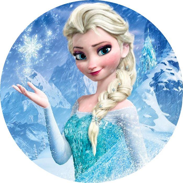 Impresión papel de azúcar Elsa 20cm