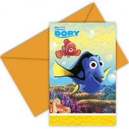 Invitaciones Cumpleaños Buscando a Dory