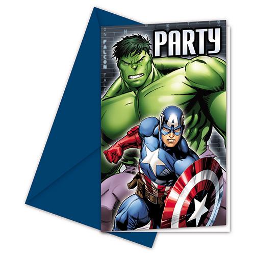 Invitaciones Cumpleaños Los Vengadores