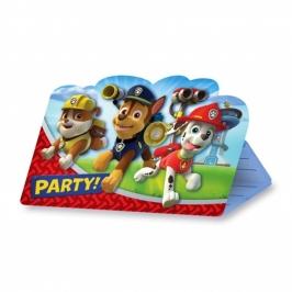 Invitaciones Cumpleaños Patrulla Canina - My Karamelli