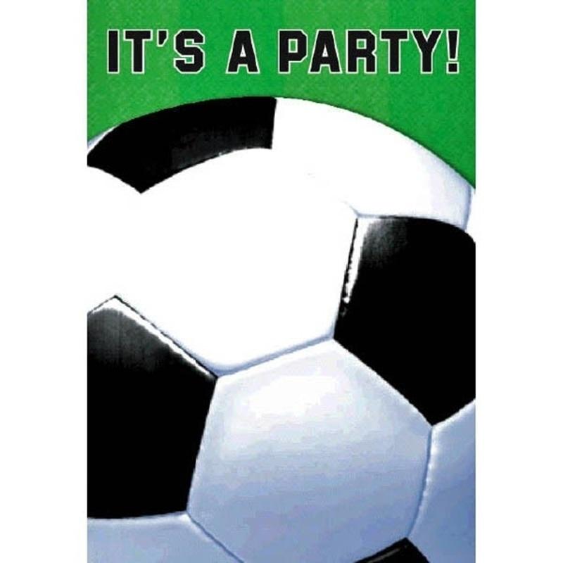Invitaciones de Cumpleaños Fútbol