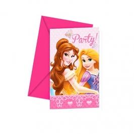 Invitaciones Princesas Disney