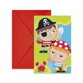 invitaciones Tesoro Pirata
