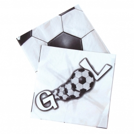 Juego  20 Servilletas de Fútbol Gol