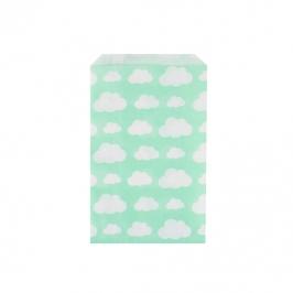Juego de 10 bolsas para dulces Nubes