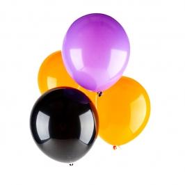 Juego de 10 globos de látex Halloween