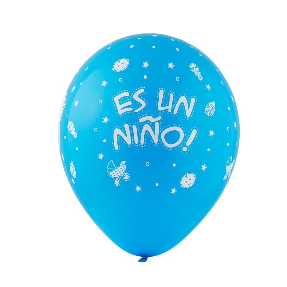 Juego de 10 Globos Látex Es un Niño - My Karamelli