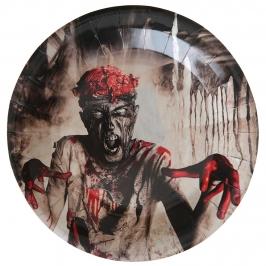 Juego de 10 Platos Zombie