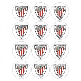Juego de 12 Impresiones en Papel de Athletic de Bilbao