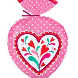 Juego de 15 Bolsas para Dulces Corazón